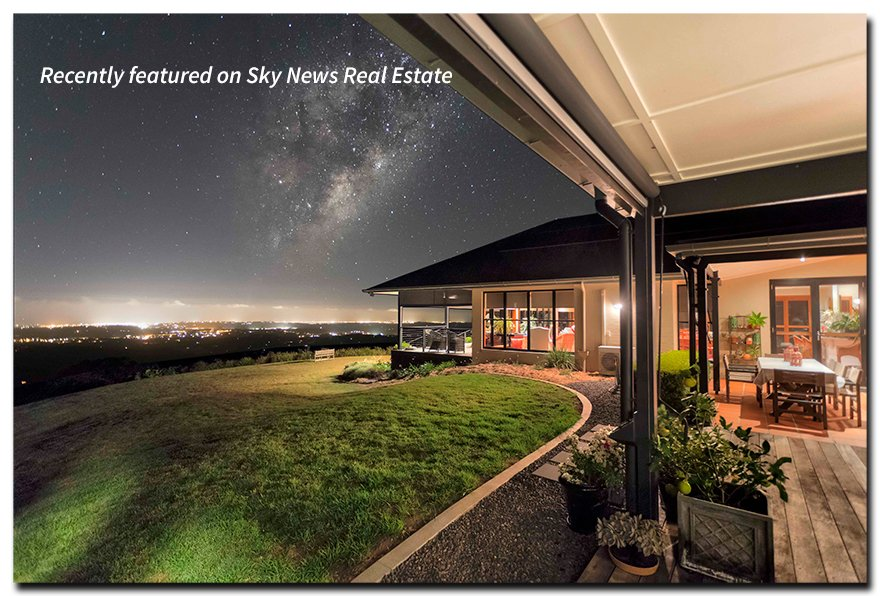 Picture of outlook from 389 Flaxton Drive in Flaxton which is for sale.